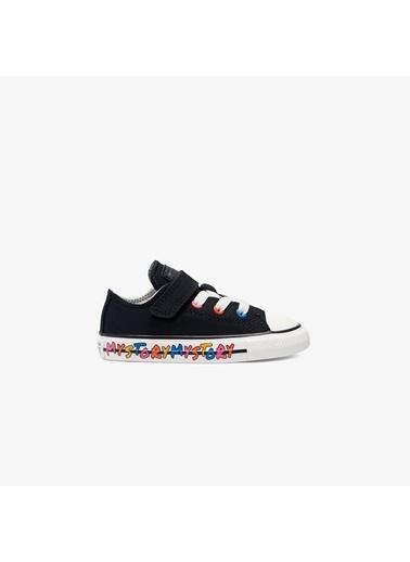 Converse Unisex Bebek Chuck Taylor Sneakers 770409C.001 Siyah